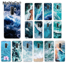 MaiYaCa Blue sea TPU Soft Silicone Transparent Phone Case for Samsung S6edge S6 edge plus S7 S8 S9 Mobile Cover