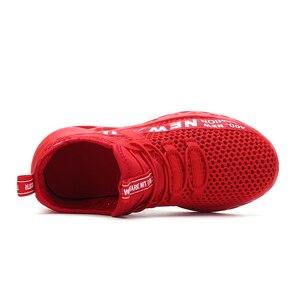 Image 4 - Criança correndo tênis de verão crianças sapatos esportivos tenis infantil menino cesta calçados leve respirável menina chaussure enfant
