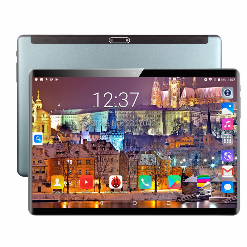 2020 New design 10.1 inch the Tablet Android 9.0 8 Core 6GB+128GB ROM Dual Camera 8MP SIM Tablet PC Wifi GPS 4G Lte phone 1920 title=