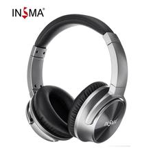 INSMA ANC bluetooth Headset Active Noise Cancelling Wireless Headphone with Microphone Earphone Deep Bass Music 20H Playing time