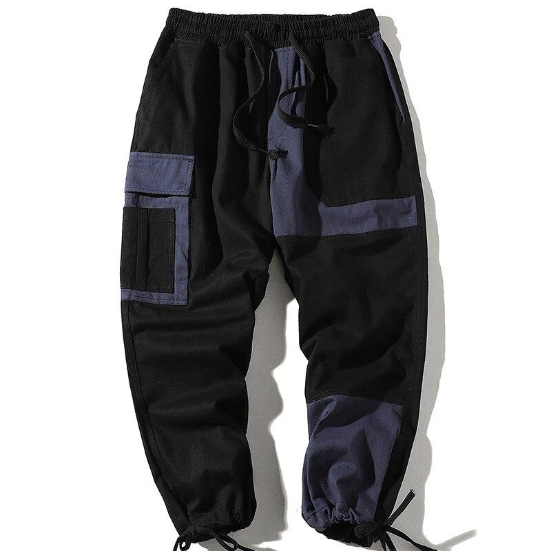 Купить уличная одежда с карманами в стиле хип хоп лентами брюки карго