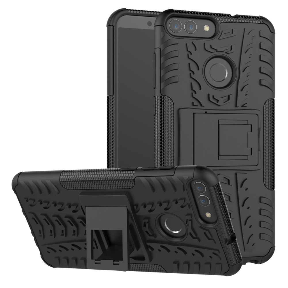 Cover Huawei Case Y7 Prime 2-Lite Kickstand No For Smart Rugged Armor