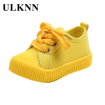 ULKNN New Children Canvas Shoes Girls Sneakers Breathable Spring Fashion Kids Shoes For Boys Casual Sport Shoes Student children sport shoes casual fashion boys girls net cloth breathable shoes kids sneakers student outdoor running shoes red black