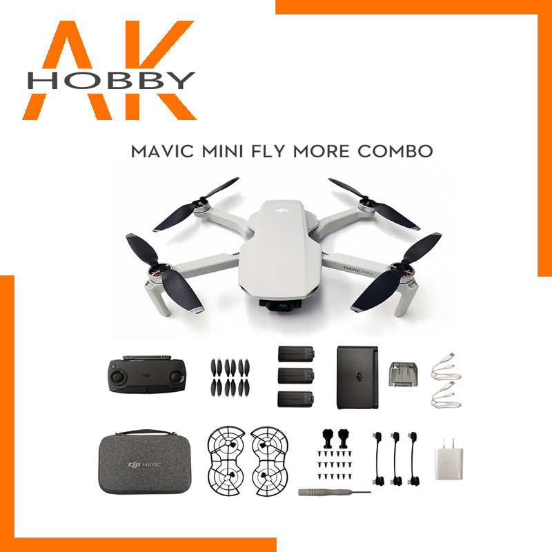 New Arrival DJI Mavic Mini FLy More Combo Drone With 2 7k Camera Flight Time 30 Minutes FCC version MT1SS5 for DJI Mavic Mini