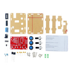 Spare Parts XR2206 Function Signal Generator DIY Kit Sine/Triangle/Square Output Signal Generator Adjustable Frequency Amplitude