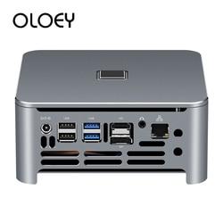 Mini komputer Intel Core i9 9880H i7 9850H 8750H i5 DDR4 Windows 10 Linux 9. 4K Gaming UHD HTPC HDMI DP Minipc komputer cienki klient w Mini PC od Komputer i biuro na