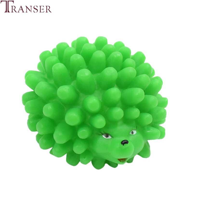 Transfer 1pc silikonowy jeż kształt zabawki dla psów Pet Dog Pupppies Chew Bite skrzypiący zwierzak zabawkowy wydający dźwięki Pet Prouducts 9107