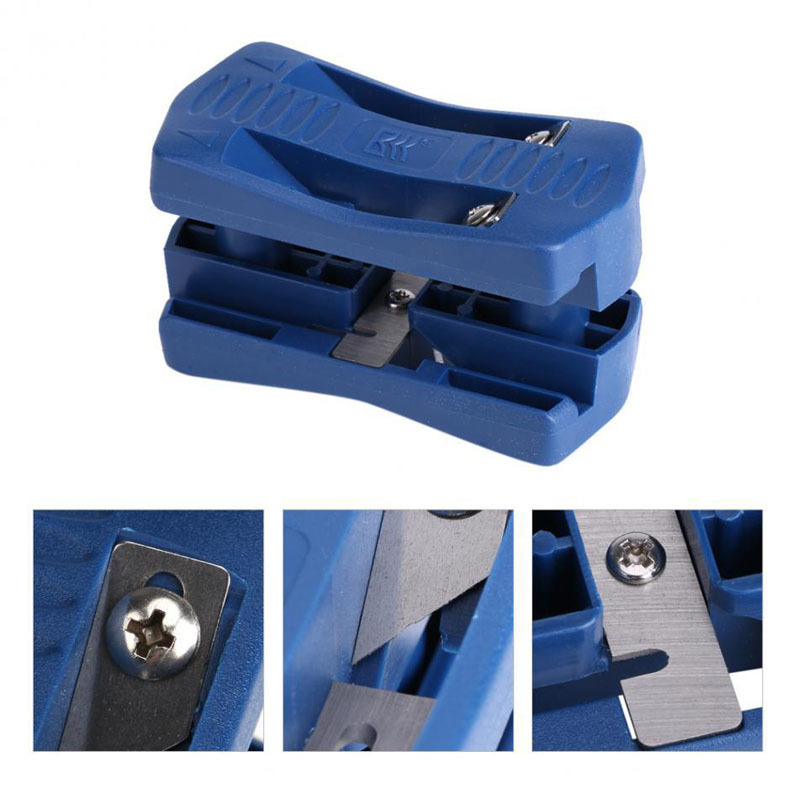 Купить с кэшбэком Woodworking Manual Edge Banding Machine Tool Planer Plate Edge Banding PVC Straight Line Trimming Device