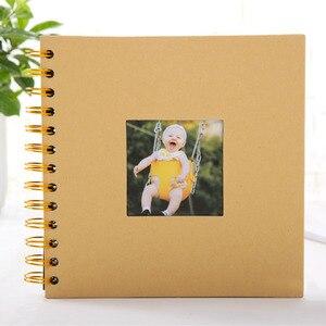 2019 Photo Album Anniversary Gift Photo Albums Creative 40 Pages Photoalbums Scrapbook Album Craft Paper Photograph Album(China)