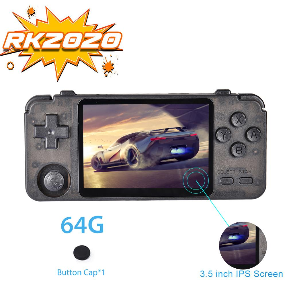 RK2020 Retro Console 3.5 Inch Ips Scherm Draagbare Handheld Game Console PS1 N64 Games Video Game Player Rk2020