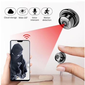 цена на Mini Camera Wireless Wifi Camera Home Security IR CCTV HD DVR Night Vision APP Remote Baby Monnitor Sensor Recorder Camcorder