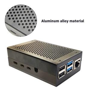 Image 4 - Raspberry Pi 4 Mẫu B 2GB Bộ RAM 2GB Với Pi 4 B Hợp Kim Nhôm (đen Hoặc Màu Bạc) và Tản Nhiệt Làm Mát Bộ