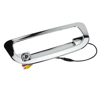 Cámara de Vista trasera de coche cámara de maletero trasero de respaldo cámara de manija trasera para Isuzu d-max Dmax 2012-2016