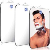 Acryl Anti Nebel Spiegel Bad Tools Dusche Rasieren Fogless Spiegel Waschraum Reise Zubehör Mit Wand Saug Für Männer Frauen
