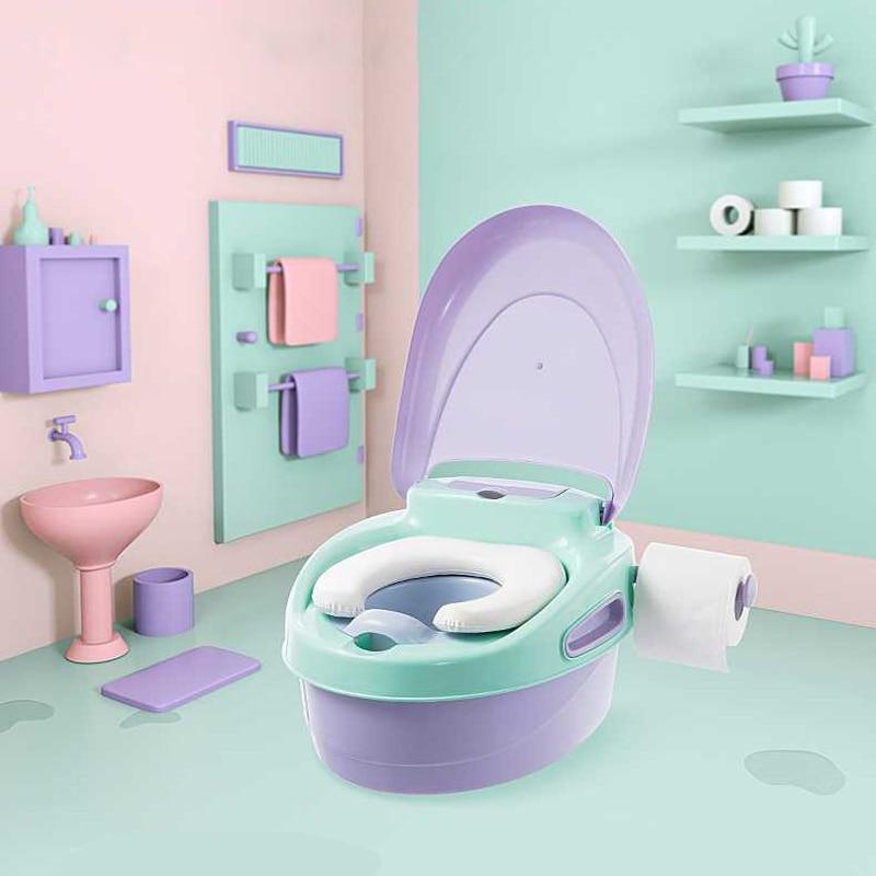 3:1 New Children's Toilet Boy And Girl Baby Toilet Baby Small Toilet Soft Child Potty