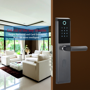Image 3 - Electronic password door lock touch keypad smart keyless door lock with electronic lock body for home