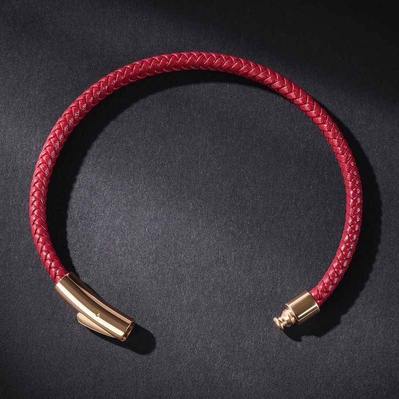Skórzane bransoletki ręcznie robione męskie bransoletka podwójne koło skórzane bransoletki i łańcuszki na rękę ze stali nierdzewnej klamra mężczyźni bransoletka luksusowa biżuteria