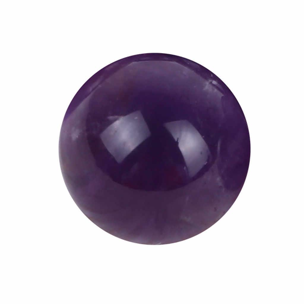 ธรรมชาติ Amethyst Ball ควอตซ์ทรงกลมขนาดใหญ่คริสตัลสีม่วง Healing Stone Pierre Naturelle et Cristaux โชคดีหิน