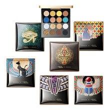 ZEESEA nowy 16 kolorów egipt paleta cieni do powiek holograficzny błyszczący z matowymi i błyszczącymi pigmentami paleta cieni do oczu