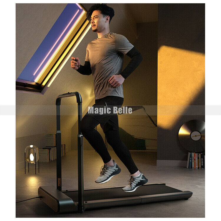 Safe&durable Exercise Treadmill With Handrail Ultra-thin Foldable R1 Running Walkingpad Indoor Mute Fitness Equipment