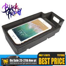 Fast-Charging-Case-Armrest-Box Phone-Holder Auto-Accessories Wireless-Charger Audi A3