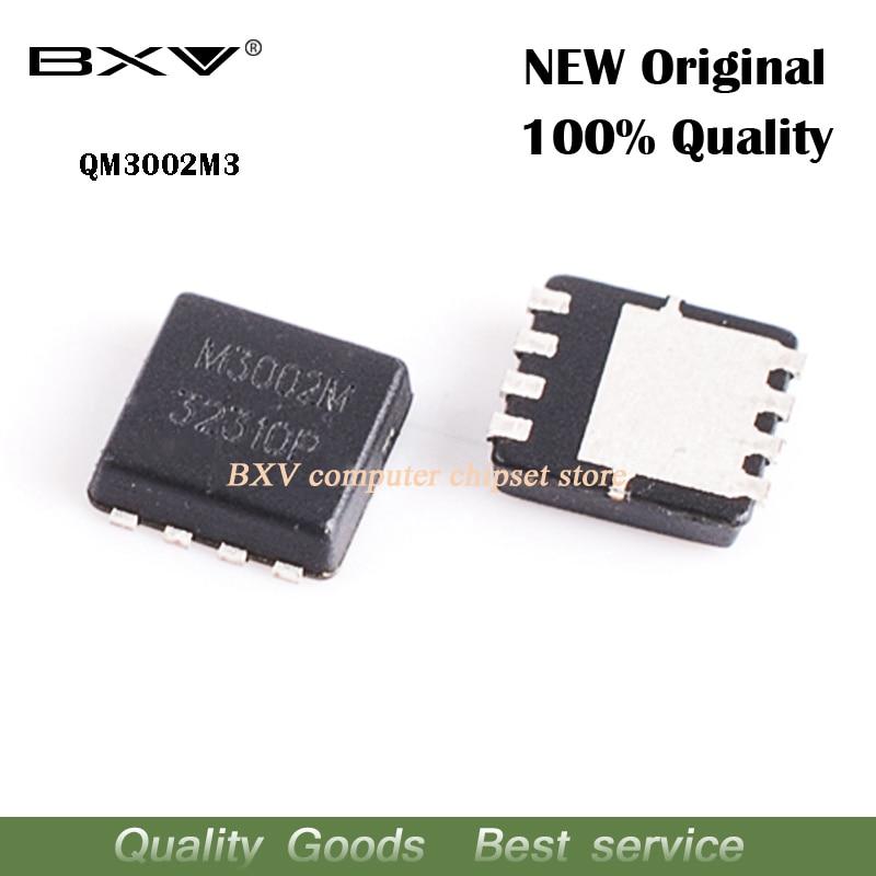 Free Shipping 5pcs QM3002M3 QM3002M M3002M 3mm*3mm MOSFET QFN-8 Original Authentic