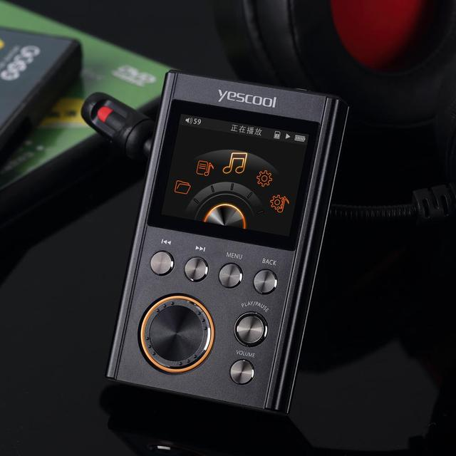 Yescool PG50 professional original demo HIFI DSD256 lossless DAC WM8965 decode CUE music Mini Sports HIFI MP3 player 1
