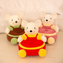 Only-Sofa-Cover Chair Plush-Seats Kids Animal-Mouse Comfortable Baby Cartoon Children