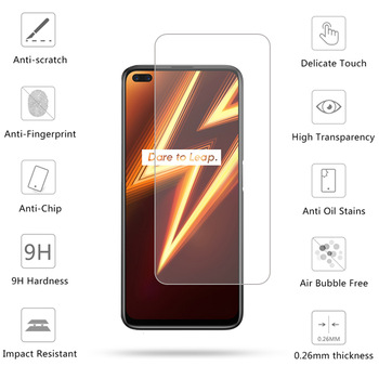 2PCS For OPPO Realme 6 Pro Glass For Realme 6 Pro Tempered Glass Screen Protector HD Flim Glass For realme 6 5 Pro X2 XT Glass