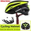 Kingbike 2019 novo design preto capacetes de bicicleta mtb mountain road ciclismo capacete da bicicleta casco ciclismo tamanho L-XL 7