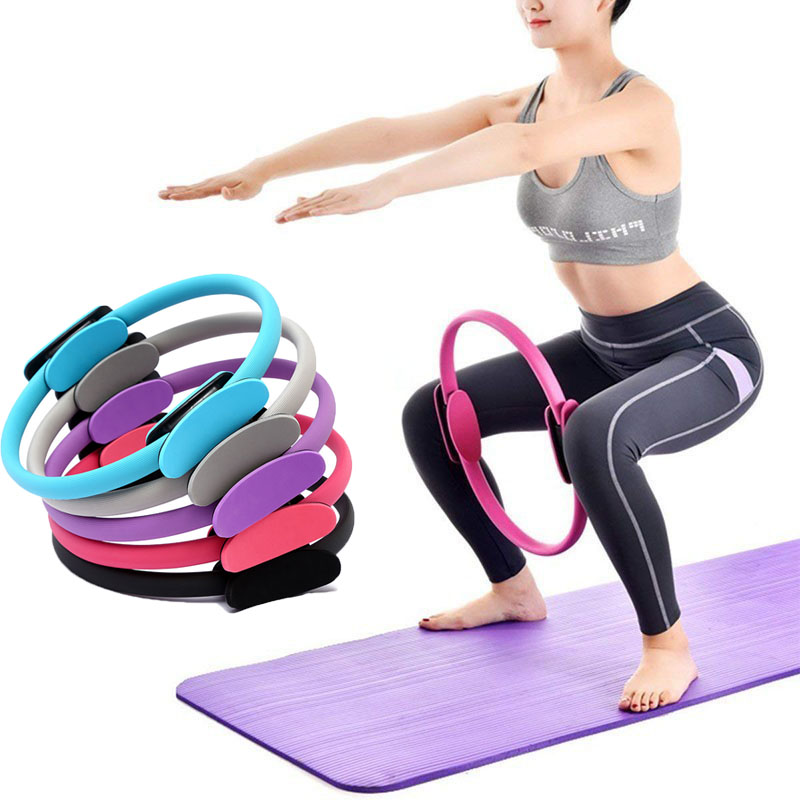 Yoga Fitness Magic Ring Professional Yoga Circle Women Gym Home Training Pilates Circle Accessories Exercise Sport Resistance