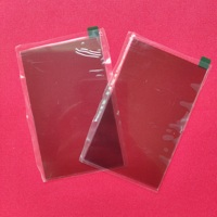 2 pcs thermal isolating glass polarizer glass 96*60*1.2mm for 4 inch lcd mini projector repair parts for Unic UC40 UC46 Rigal