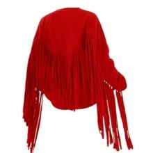 Sudadera larga con capucha para hombre y mujer de ropa informal estilo Hip Hop color negro y rojo para espectáculo de ropa de es