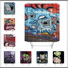 Bathroom Curtain Polyester-Fabric Waterproof Custom Musife Zim High-Quality