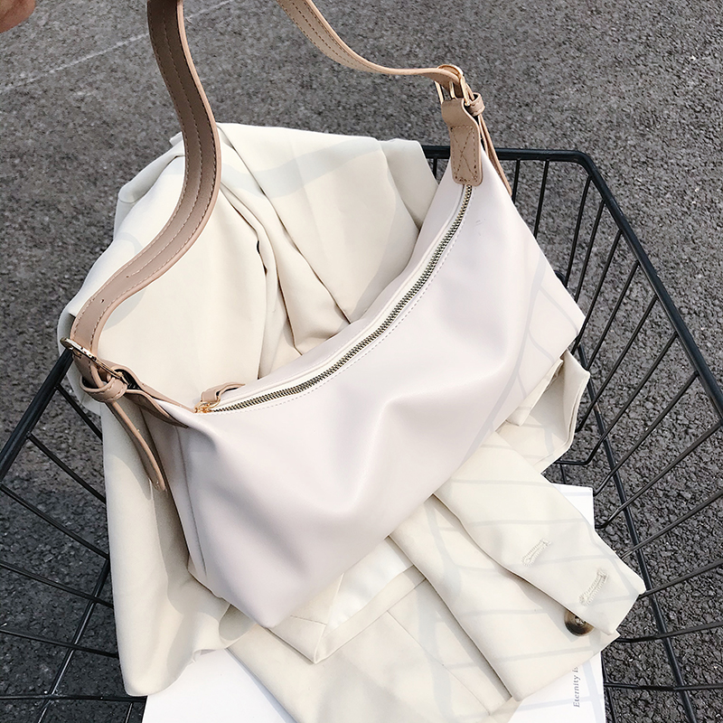 Small PU Leather Shoulder Bags For Women 2020 Summer Sweet Solid Color Handbags Female Travel Hand Bag Female Totes Purple