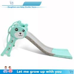 ألعاب أطفال منزلقة للأطفال ألعاب أعياد ميلاد داخلية مع اتساع إطالة وسماكة وطي زحليقة صغيرة شحن مجاني