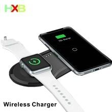 Pad di ricarica Wireless USB Quick Mobile Phone Watch Dock Qi caricabatterie Wireless per iphone 11 X XS Apple Watch iwacth Samsung Xiaomi