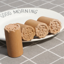 Stamp Cake-Mold Wood Traditional Chinese Cake-Decorating-Tools Dessert-Seal DIY for Mid-Autumn