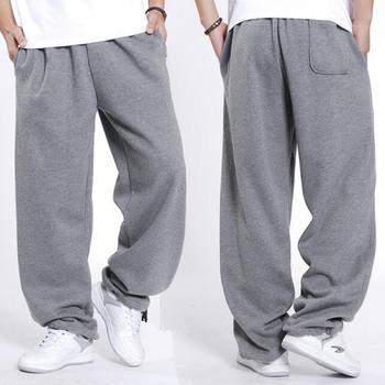 Hiphopowy sweter spodnie dresowe męskie biegaczy bawełniane spodnie dresowe luźna workowata spodnie dresowe odzież męska tanie i dobre opinie SHIERXI Na co dzień Elastyczny pas Mieszkanie Pełna długość POLIESTER COTTON LOOSE NONE średniej wielkości Sukno