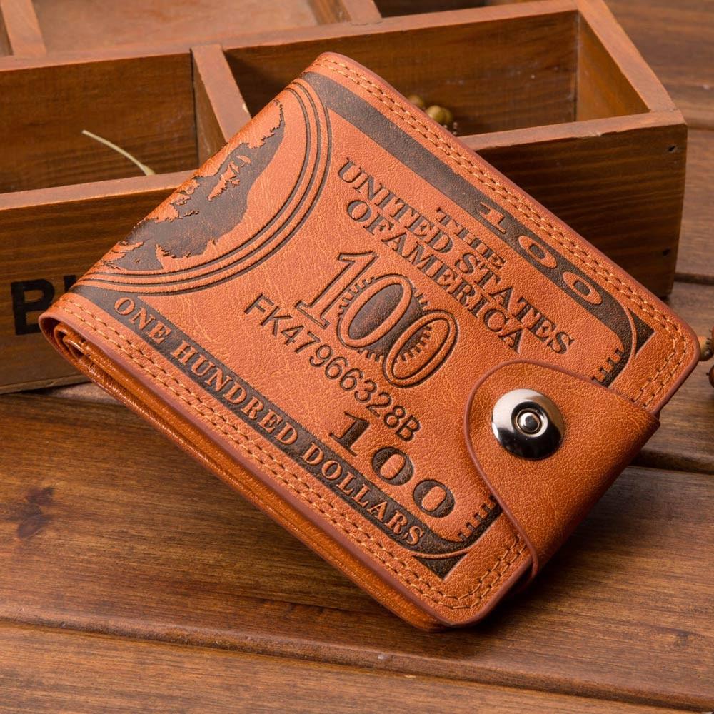 Wallet For Women Men Bifold Business Leather Wallet ID Credit Card Holder Zipper Pockets Long Style Card Holder Purse кошелёк