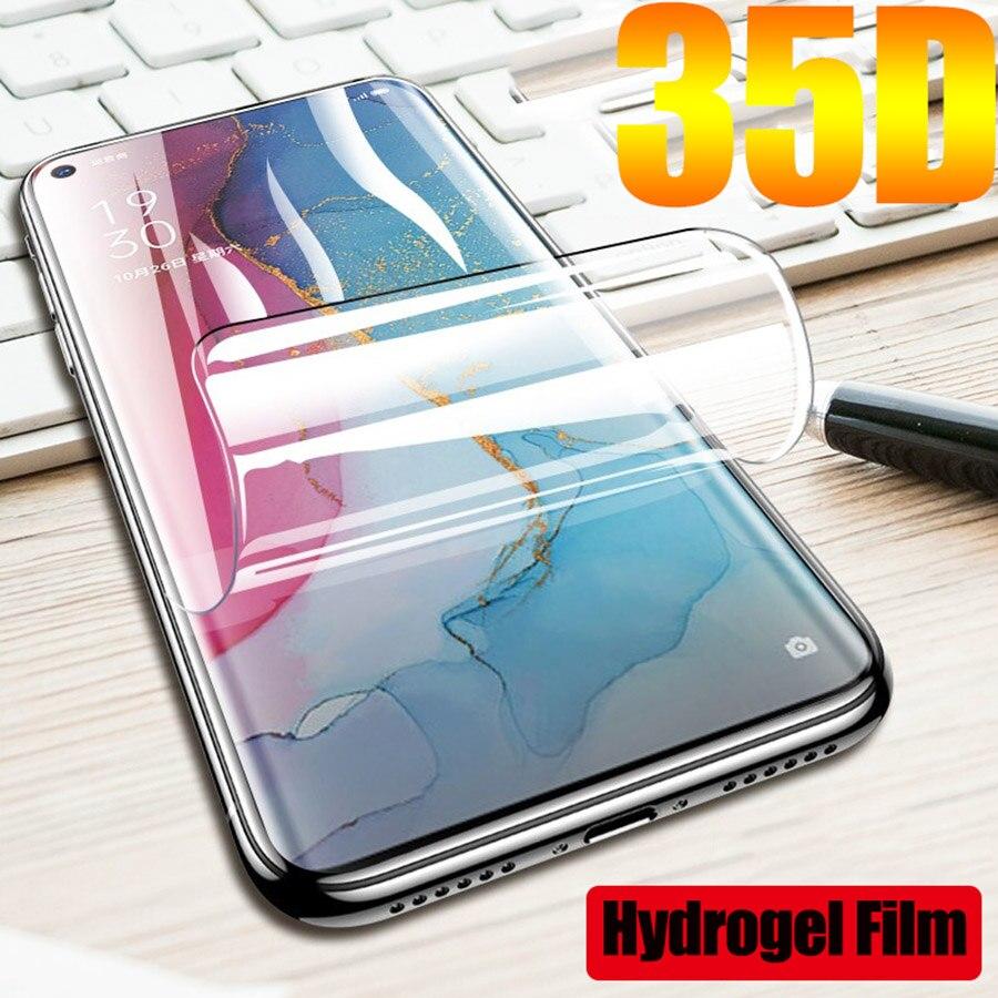 Para realme 6 película protetora de hidrogel para oppo realme6 real me6 i s realmi 6 pro 6i 6s i6 eet filme não vidro
