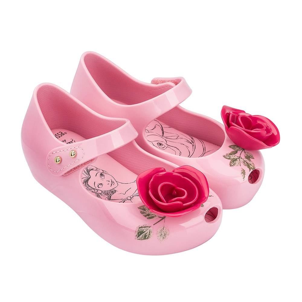 Ultragirl Beauty The Beast Girl Jelly Shoes Sandals 2020 Baby Shoes Melissa Sandals Kids Zandalias Slides Shoes