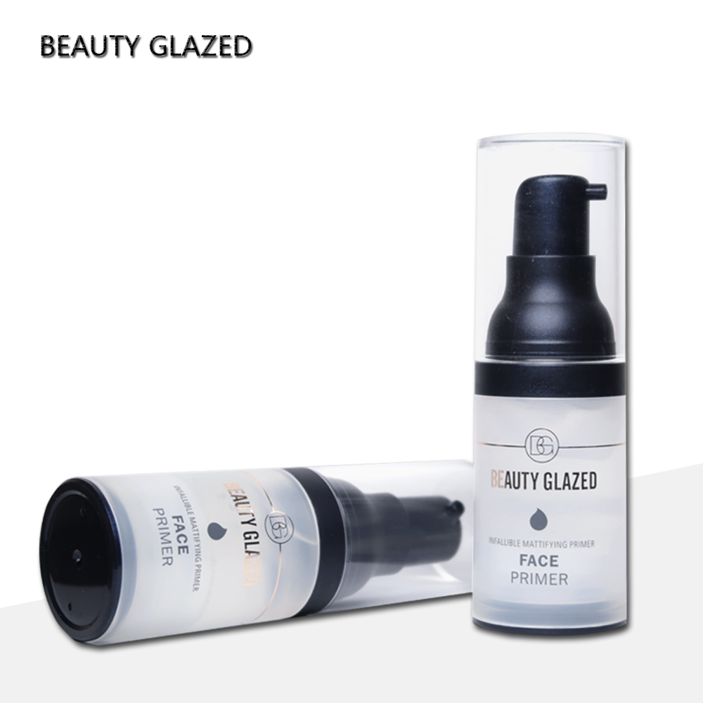 Beauty Glazed pores make up primer Oil Control Professional Liquid Moisturizer Whitening Cosmetics Facial Foundation base Primer in Primer from Beauty Health