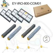 цена на For iRobot Roomba 980 brush 850 860 861 866 870 880 890 900 Filter Side Brush Tangle-Free Debris Extractor dust  Cleaning tool