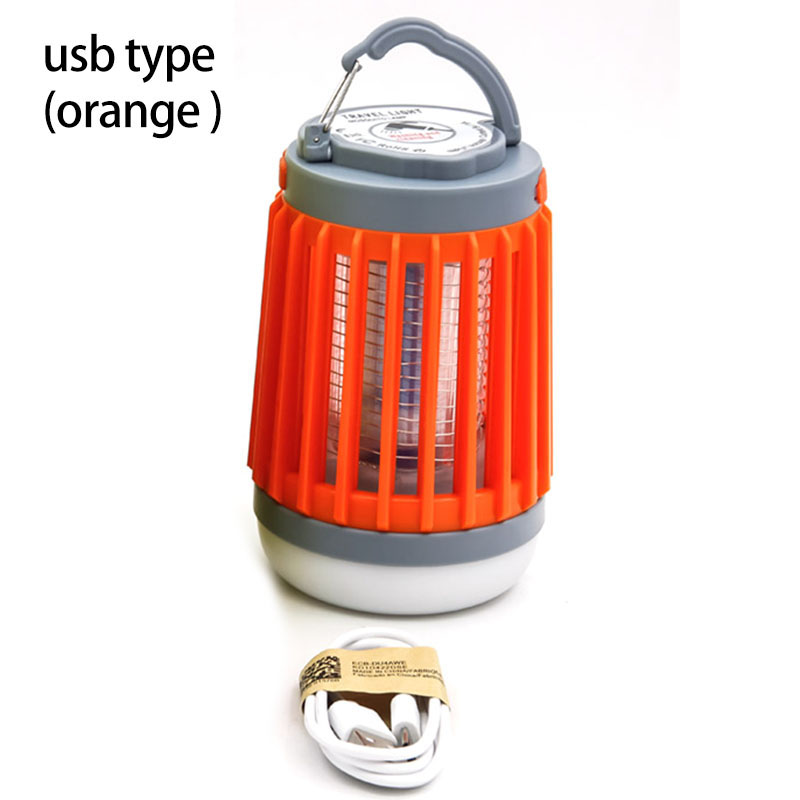 Image 4 - 2 in1 LED USB Solar power Mosquito Killer Lamp protable Lantern Outdoor Repellent light Insect Bug mosquito Trap moskito camping-in Mosquito Killer Lamps from Lights & Lighting