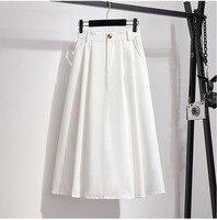 White--Skirt