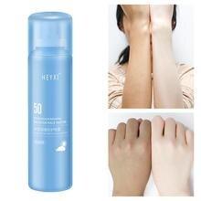 1Pc 180ml UV Sunscreen Mist SPF50 Oil-Free Spray Waterproof Sun Protection For Beach & Sport Instant Whitening Lotion Body Spray