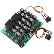 DC 10 55V 12V 24V 36V 48V 55V 100A contrôleur de vitesse moteur PWM HHO RC affichage de interrupteur avec LED de contrôle inverse