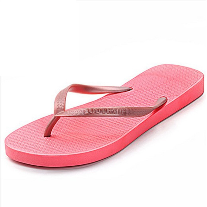 Summer Women Flip Flops Slippers Clip Toe Flat Sandals Casual Shoes Anti-slip Slipper Ladies Beach Flip Flops Women Home Slipper