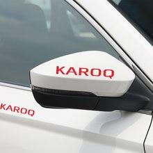 Автомобильная наклейка s и наклейки для skoda karoq на зеркало